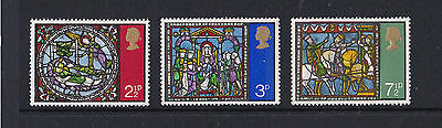 SG 894  to 896 - Christmas - Issued 13 Oct 1971 - Mint Never Hinged