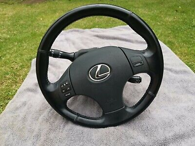 Lexus Is220 Multifunction Leather Steering Wheel With Airbag & Cruise Control