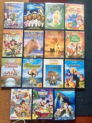 lot dvd walt disney