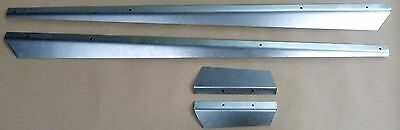 Oliver Tractor Hood Side Panel Deflector Trim Set 1550, 1555, 2-62, 1650 & 1655