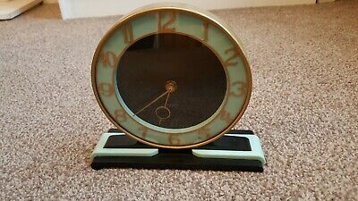 Super Art Deco Smiths Mantle Clock