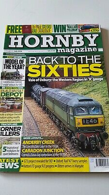 Hornby Magazine Issue 133. July 2018. With Oxford Rail Range Catalogue. Used. GC
