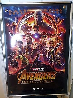 Avengers Infinity War Robert Downey Marvel Rolled Original 27x40 Movie Poster