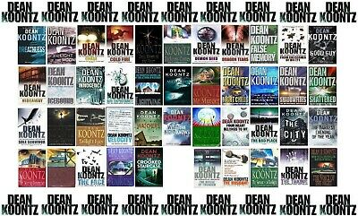 47 Book Dean Koontz set less than £1.60 a book inc P&P discount applied for 24HR