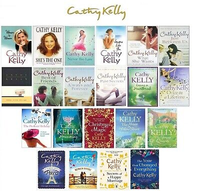 Cathy Kelly COMPLETE bibliography collection set 21 BOOKS