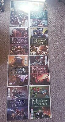 Fear Itself Mega Set Full Run 1-7 Home Front, One Shot, and extras NM+ (Marvel)