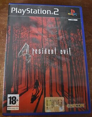 Video Gioco Retro Game Sony Play Station PS 2 ITA Resident Evil 4 Re