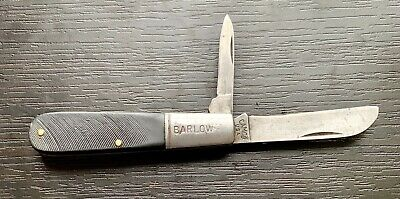Vintage Camco Barlow 2 Blade Folding Pocket Knife Made In Usa By Camillus