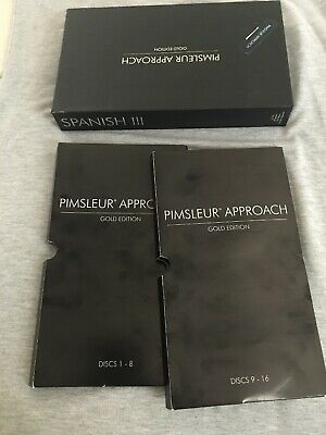 PIMSLEUR SPANISH III (Level 3) Gold edition, 16 cd comprehensive course
