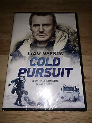 Brand New Cold Pursuit DVD 2019 Liam Neeson