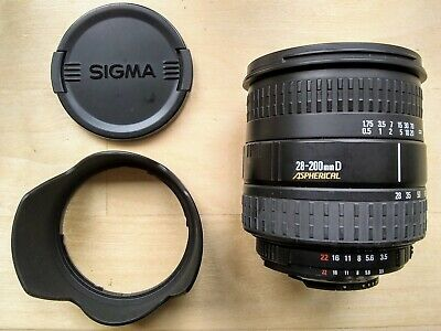 Sigma 28-200mm AF Aspherical DL Lens - Nikon Fit