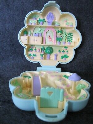 Vintage 1990 Bluebird Polly Pocket Midge's Flower Shop Compact Only