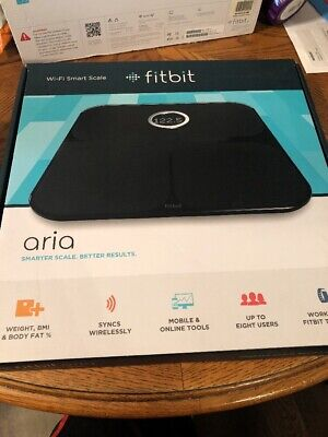 Fitbit Aria 2 Wi-Fi Smart Scale is sealed box Brand NEW!