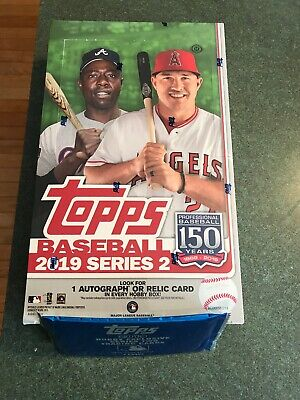 2019 Topps Series 2 Baseball Sealed Hobby Box w/ 1 Silver Pack. Free Shipping.
