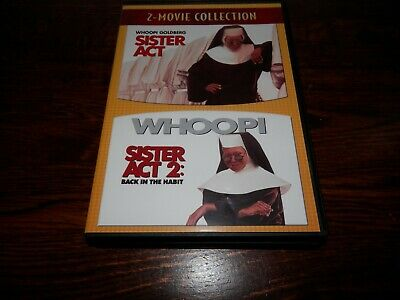 Sister Act 1 & 2 -  DVD's
