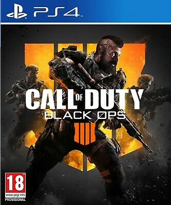 Call of Duty BLACK OPS 4 (PS4) FREE SUPER FAST SAME DAY DISPATCH!!😁