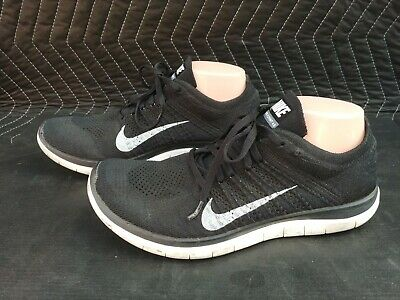 check out f5ef9 a95d5 NIKE FREE 4.0 (Black / Silver / Cool Grey) Running [717988 ...