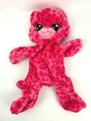 """Build a Bear BAB Leopard Candy Sweet Scented Cat Hot Pink Unstuffed 16"""""""