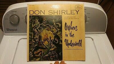 RARE Don Shirley Orpheus in the Underworld Cadence CLP 1009 LP Record Green Book