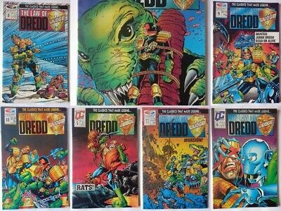 Judge Dredd - Cursed Earth / The Day the Law Died collection Fleetway Quality
