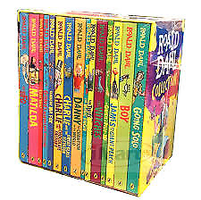 CLASSIC ROALD DAHL Collection Phizz Whizzing 15 Classic Story Books Box Set NEW
