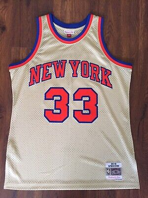 half off d60d2 3df74 PATRICK EWING NEW York Knicks Mitchell & Ness Throwback nba ...