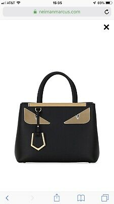 3998c6918dc FENDI PETITE 2 Jours Monster Eye 2 Way Tote Bag Perfect condition ...
