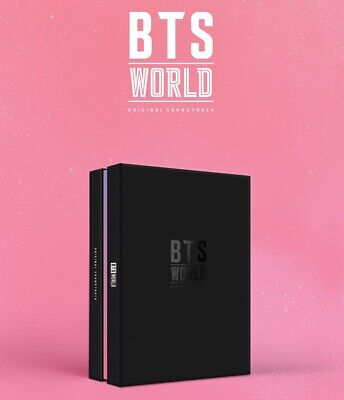 BTS [ WORLD OST ] album CD+PHOTOCARD+BIGHIT P. BENEFIT+POSTER+ TRACKING, SEALED
