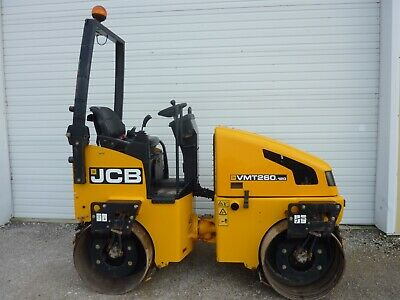 "2014 JCB VMT260 47"" Smooth Drum Vibratory Roller 310 Hours"