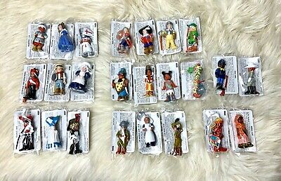 24pc Mondotime figurines collectible vintage history school ethnic multicultural