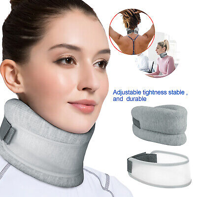 Cervical Neck Traction Device Collar Support Brace Pain Relife Therapy Sleeping