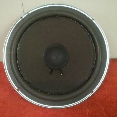 "Vintage Acoustic Research Ar48B 10"" Oem Woofer W/ Fresh Foam Tested 200040-0"