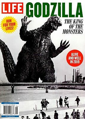 Life Magazine 2019 Run For Your Lives The King of the Monsters GODZILLA
