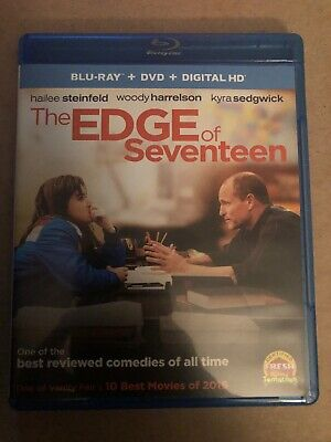 The Edge Of Seventeen (BLU-RAY) Hailee Steinfeld, DVD/DIGITAL COPY NOT INCLUDED