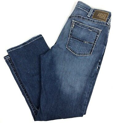 0a3d0b78cd1 ARIAT M4 LOW Rise Boot Cut Men's Jeans Tag 38 x 32 (Actual 38x31 ...