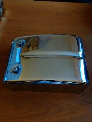 08 HARLEY DYNA Low FXDL Left Side Fuse Box Cover Panel CHROME ... on harley fat boy fuse box, harley davidson fuse box, harley softail fuse box, harley road glide fuse box, harley dyna fuse cover, buell blast fuse box, cafe racer fuse box, road king fuse box, harley sportster fuse box,