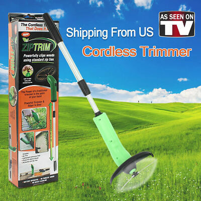 Stainless Steel Grass Tree Eater Trimmer Cutter Mower Cordless Lawn Garden Tools