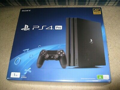 PS4 Pro Sony PlayStation 1TB Console Jet Black - Brand New!!!