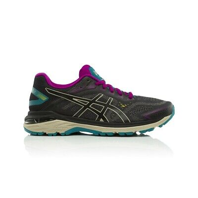Asics GT 2000 7 Trail Women's Running Shoes - Black/Feather Grey