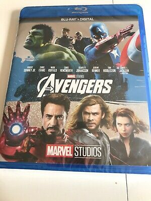 Marvel's Avengers (Blu-ray+Digital)Brand NEW Free Shipping Marvel Studios