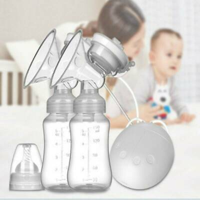 Double Automatic Intelligent Electric Handfree Breast Pump Kids Baby Feeder USB