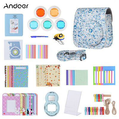 Andoer 14 in 1 Accessories Bundle for Fujifilm Instax Mini 8/8+/8s/9 with Q7Z9