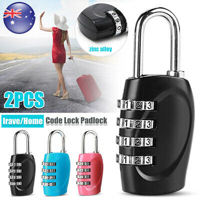 Approved 4-Digits Combination Suitcase Luggage Security Padlock Travel Lock