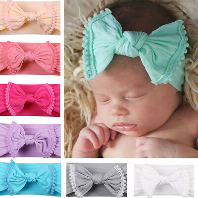 Kid Baby Girl Cutes Toddler Lace Flower Hair Bands Headwear Headband Accessories