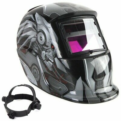 Augibe Auto Darkening Welding Helmet Mask For Welder Grinding Solar Power Safe