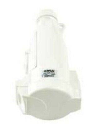 Clipsal 56-SERIES SWITCH PENDANT OUTLET 15A 500V 3-Pin Flat RESISTANT WHITE