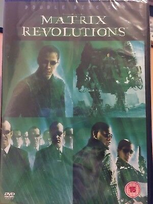 Matrix Revolutions (DVD, 2004) New Sealed