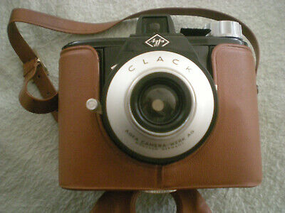 Agfa Clack 120Mm Roll Film Camera & Case - Excellent Condition
