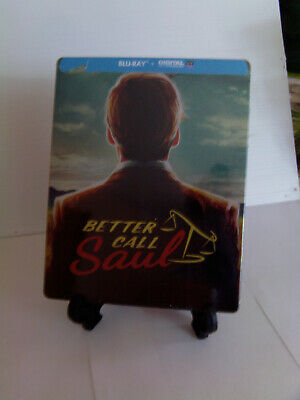 Better Call Soul Coffret Steelbook Blu Ray Neuf Sous Blister