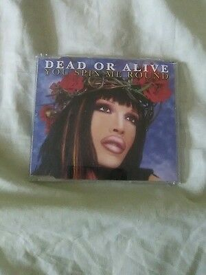 Pete Burns/Dead Or Alive-You Spin Me Round 2006 CD single-includes video